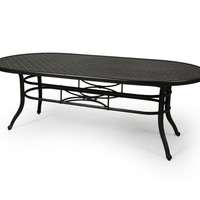 Napa 9000-Cast Dining Table 42 X 84 Oval