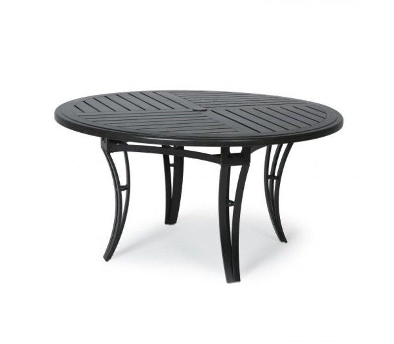Salinas F-Top-Aluminium Dining Table 48 Round