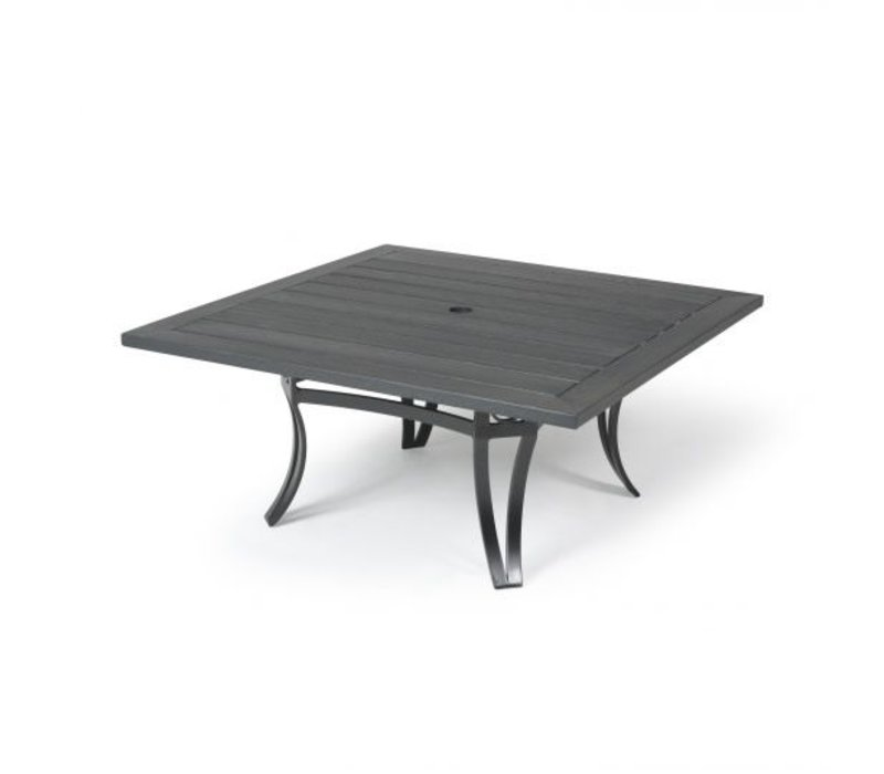 Salinas W-Top-Aluminium Coffee Table 42 Square