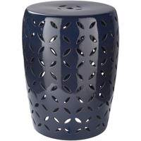 Chantilly Stool Medium Navy (CHT760-M)