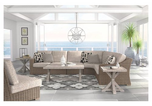 Modern Backyard Outer Banks Sectional Set