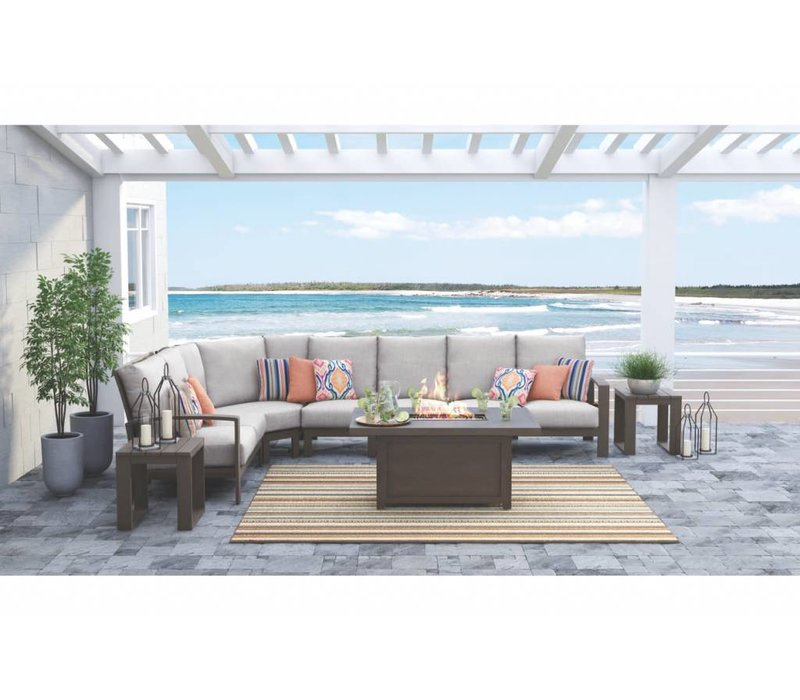 Raleigh Sectional Set
