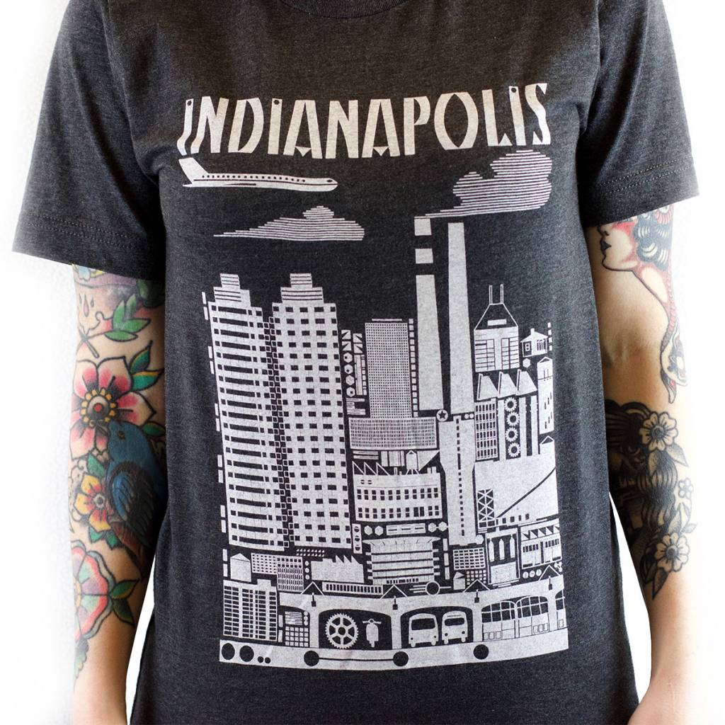 Indygenous INDIANAPOLIS Tee (Women's)