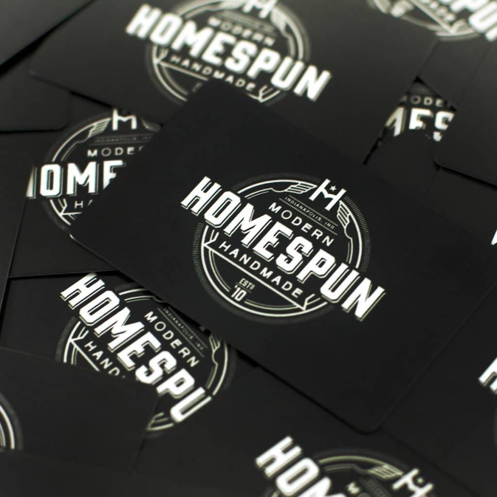 Homespun Homespun Gift Card