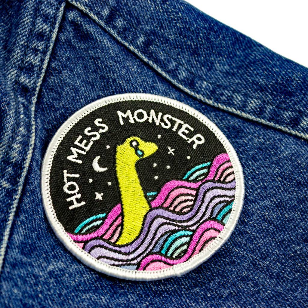 Band of Weirdos / Moss Love Hot Mess Monster Patch