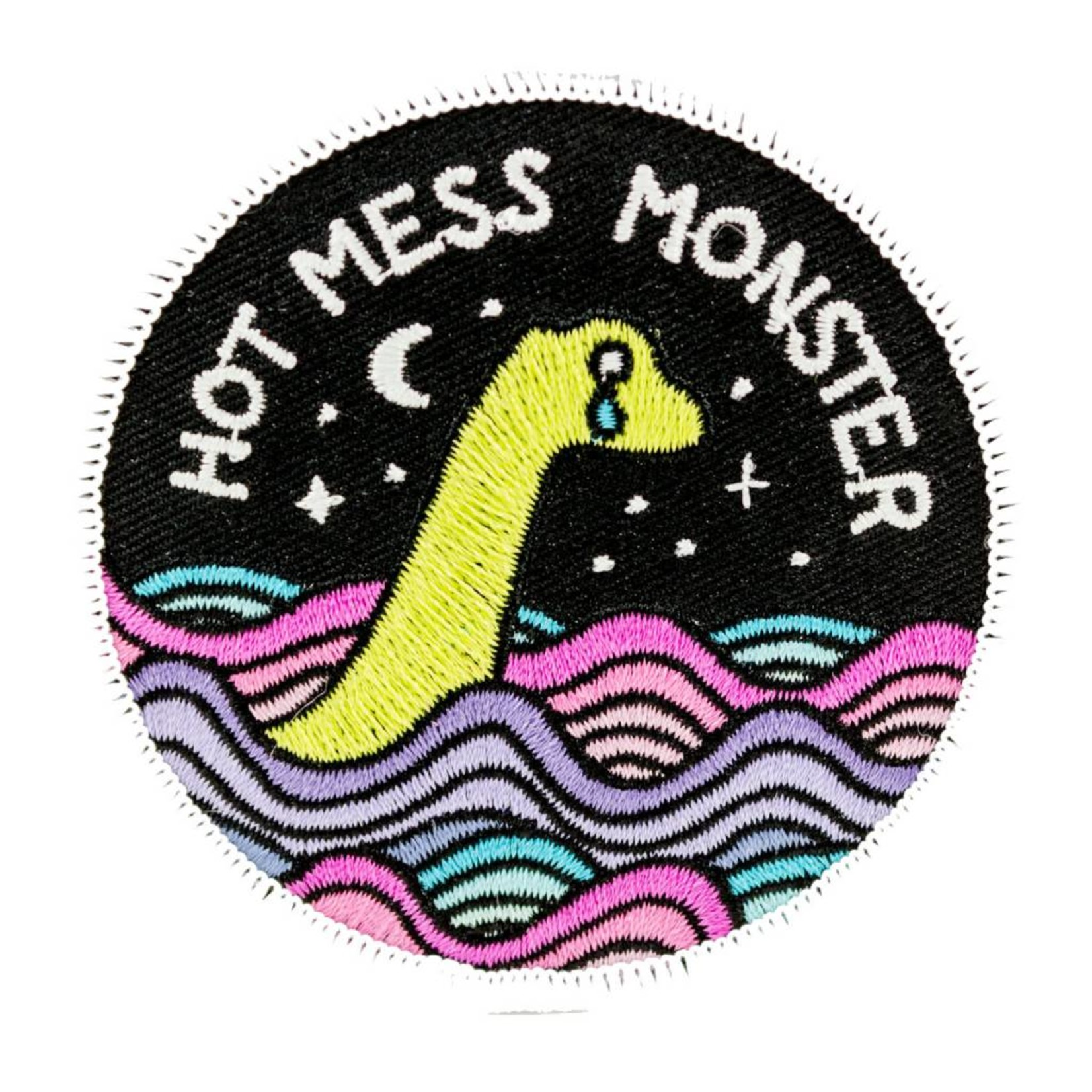 Band of Weirdos / Moss Love Hot Mess Monster Patch