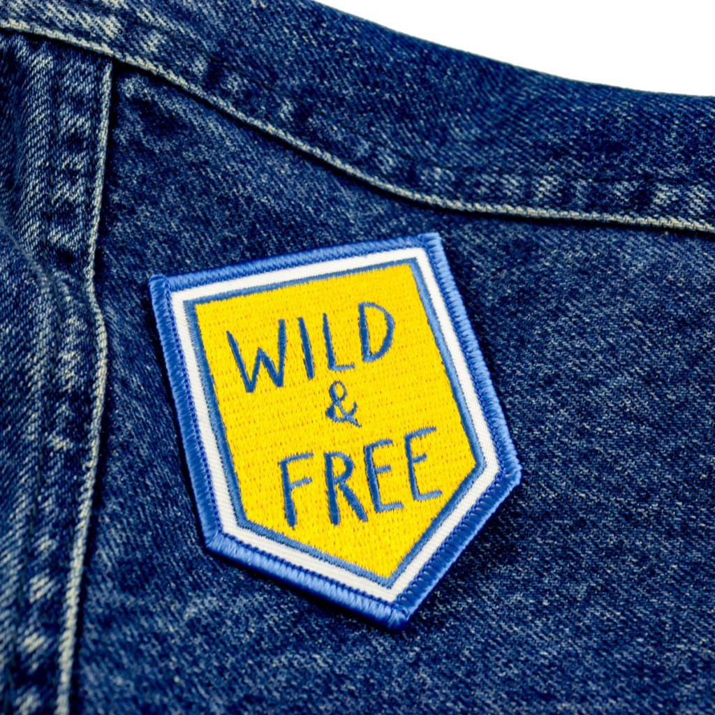 Big Wheel Press Wild & Free Patch