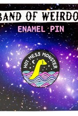 Band of Weirdos / Moss Love Hot Mess Monster Enamel Pin