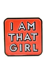 Band of Weirdos / Moss Love I Am That Girl Enamel Pin