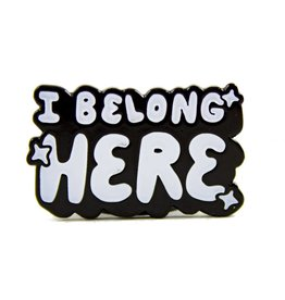 Band of Weirdos / Moss Love *I Belong Here Enamel Pin