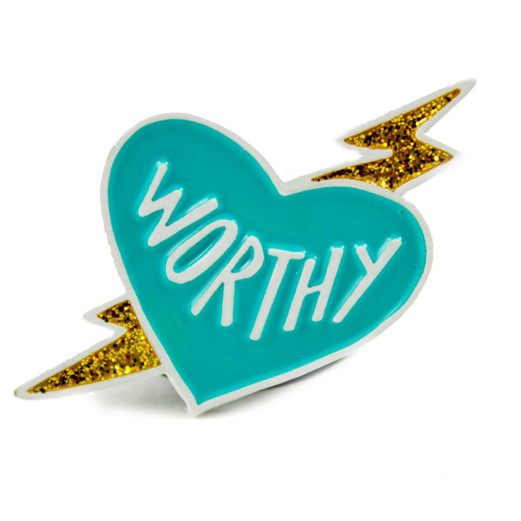 Band of Weirdos / Moss Love Worthy Enamel Pin