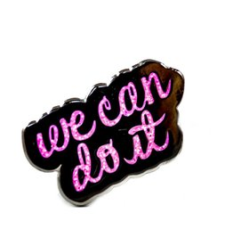 Band of Weirdos / Moss Love *We Can Do It Enamel Pin