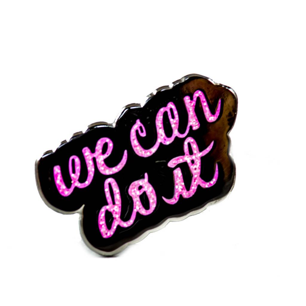 Band of Weirdos / Moss Love We Can Do It Enamel Pin
