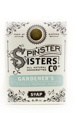 Spinster Sisters Co. Gardener's Citrus Scrub Bar Soap