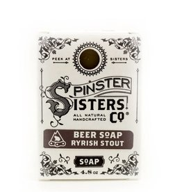 Spinster Sisters Co. Ryrish Stout Beer Bath Bar Soap