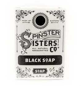 Spinster Sisters Co. Black Charcoal Bar Soap