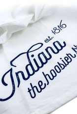 Tandem For Two Indiana Pride Hoosier Tea Towel
