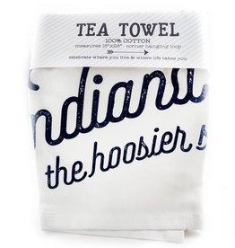 Tandem For Two Indiana Pride Hoosier Tea Towel