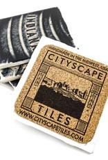 Hazel Brown Photography Indianapolis Manhole Photo Coaster
