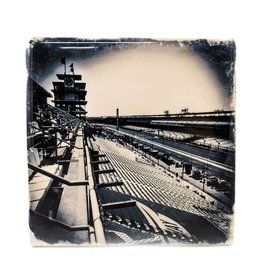 Hazel Brown Photography Indianapolis Motor Speedway Photo Coaster