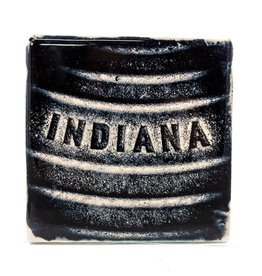 Hazel Brown Photography Indiana Manhole Cover Photo Coaster
