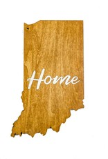 Inspired Woodcrafts Home Indiana Cutout