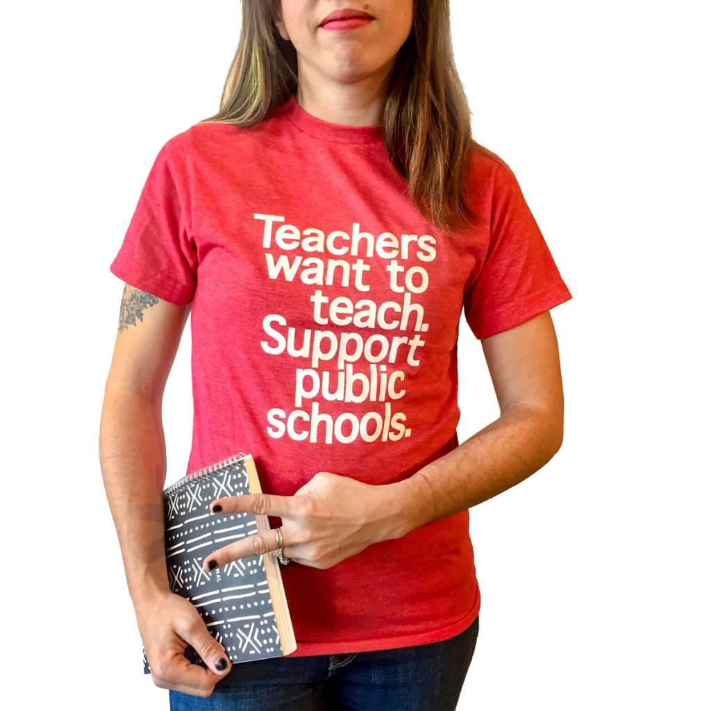 BadKneesTs Public Schools Tee (Unisex)