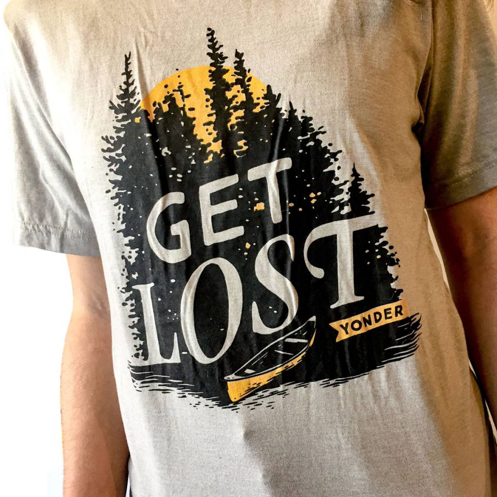 Yonder Clothing Co. Get Lost Tee (Unisex)