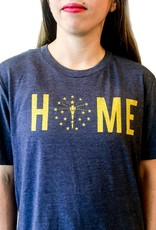 Hoosier Proud Home Gold Torch Tee (Unisex)