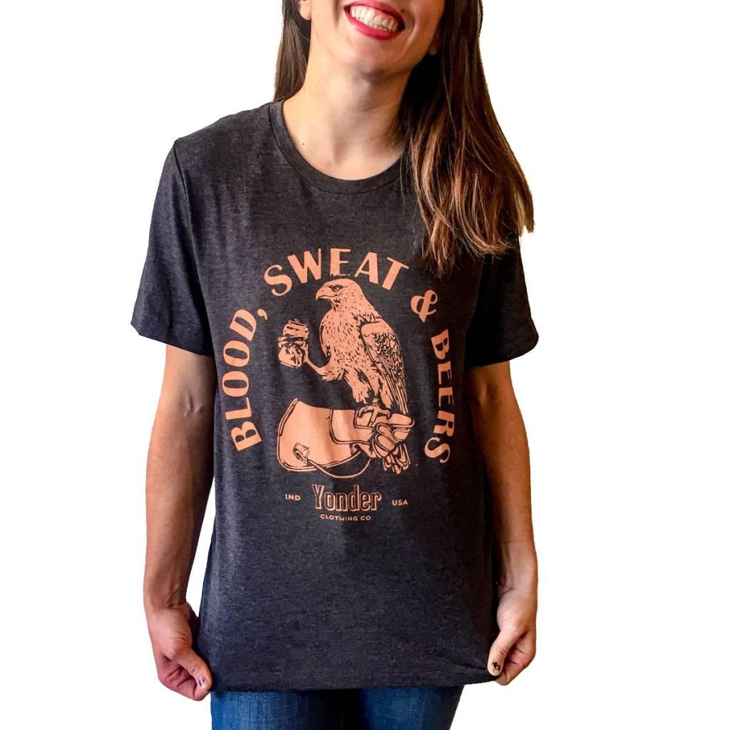 Yonder Clothing Co. Blood Sweat Beers Tee (Unisex)