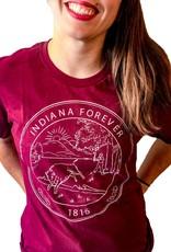 Hoosier Proud Indiana Forever Tee (Unisex)