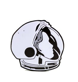 John Vogl / The Bungaloo Astronaut Enamel Pin