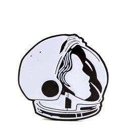 John Vogl / The Bungaloo Astronaut Enamel Pin