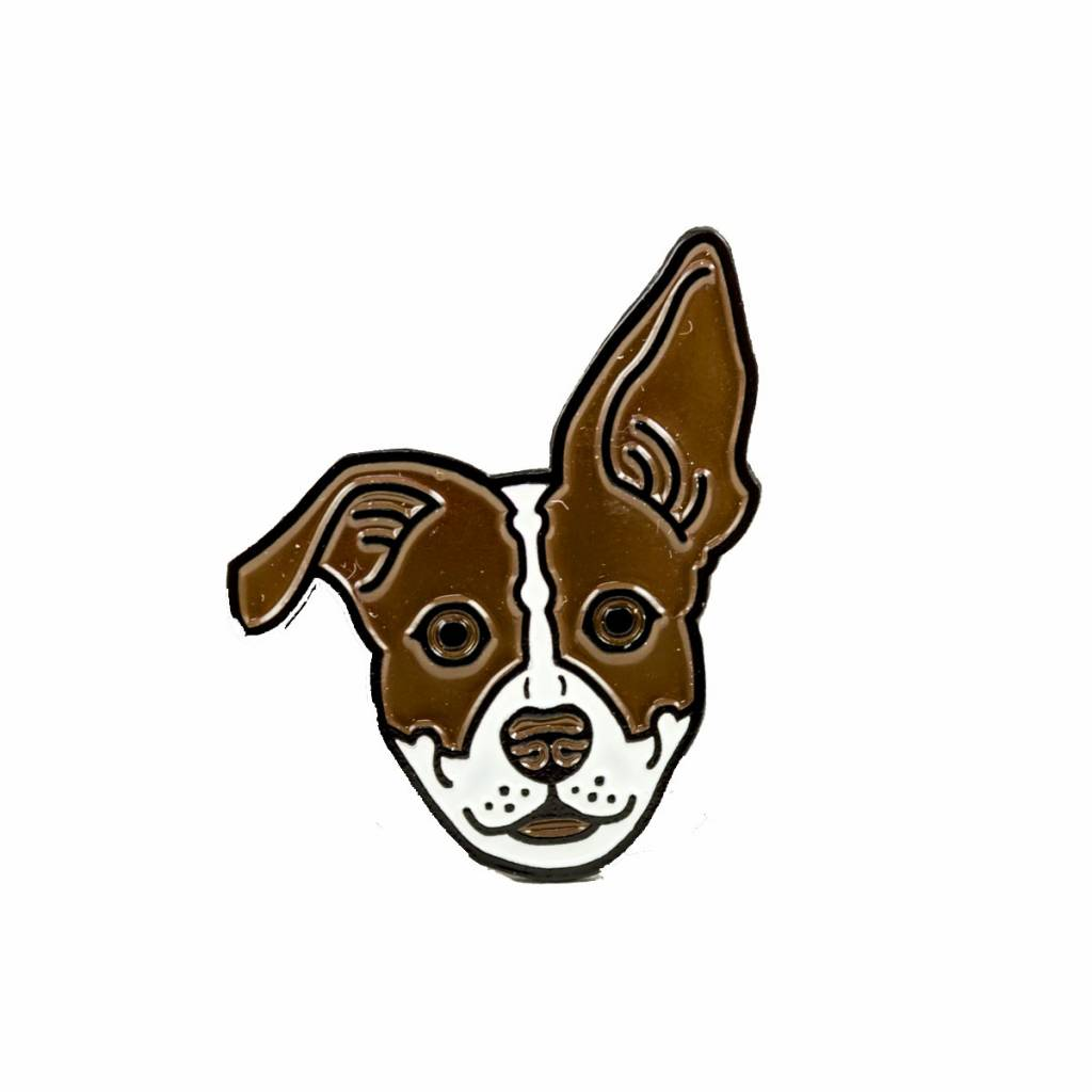 The Bungaloo Marmaloo Dog Enamel Pin