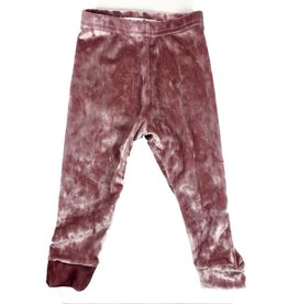 Ashes Ashes Design Rose Velvet Leggings (Baby/Toddler Fit)
