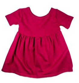 Vivie & Ash Raspberry Swing Dress (Baby/Toddler Fit)