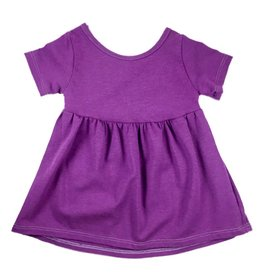 Vivie & Ash Purple Swing Dress (Baby/Toddler Fit)