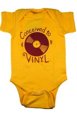 Alison Rose Conceived to Vinyl Onesie