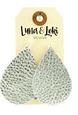 Luna & Loki Design Teardrop Earrings