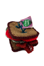 A Picnic Lunch BLT Sandwich Yarn Plush