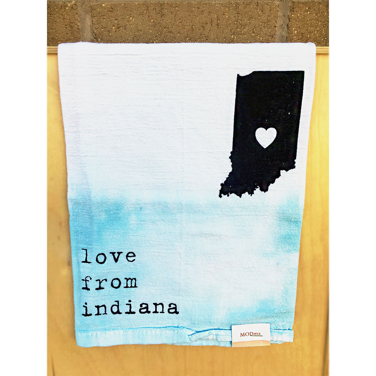 MODma Goods Love From Indiana Tea Towel
