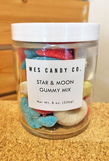 Wes Candy Co. Star + Moon Gummy Candy Mix