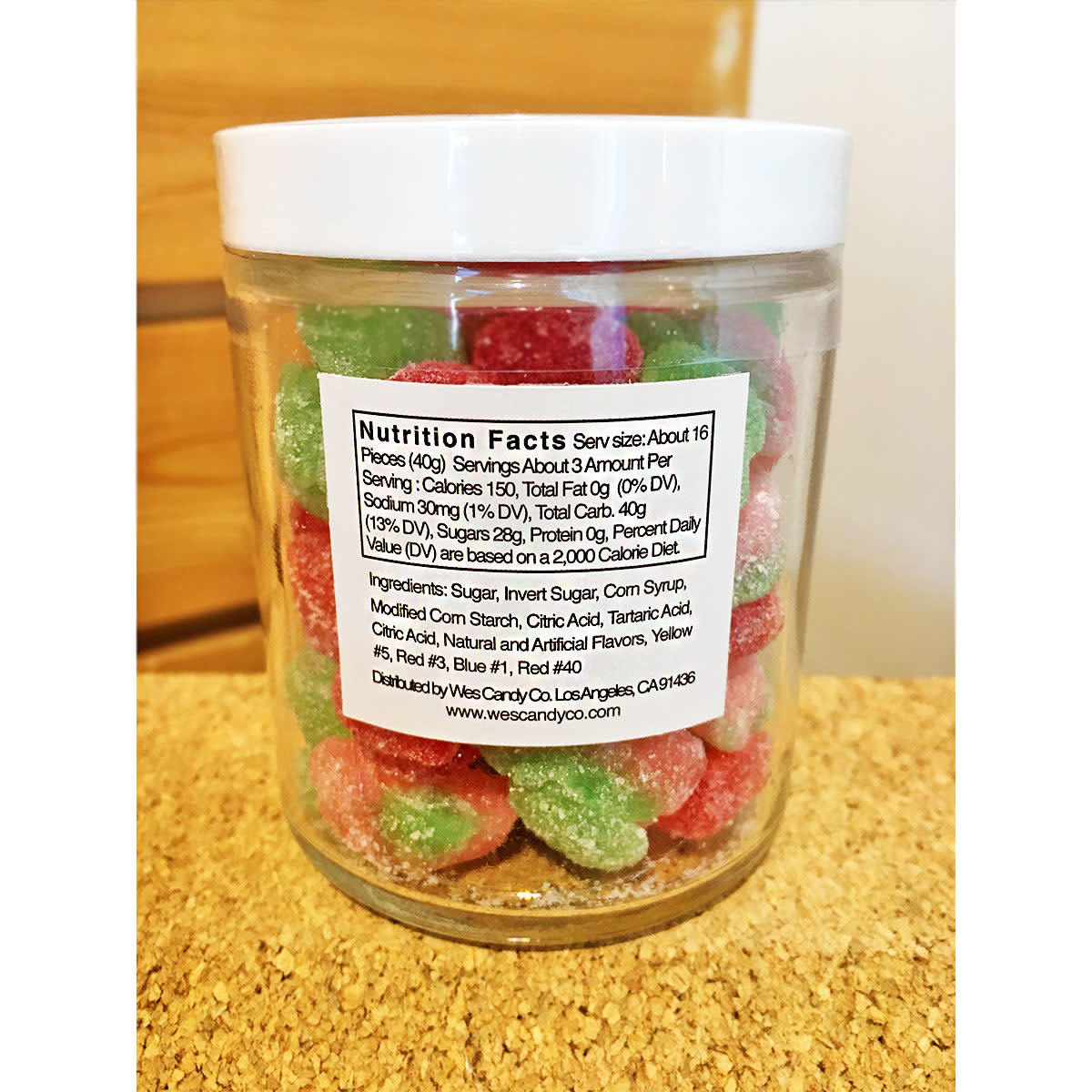 Wes Candy Co. Sweet Fruit Gummy Candy Mix