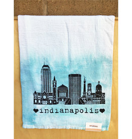 MODma Goods Indianapolis Skyline Tea Towel