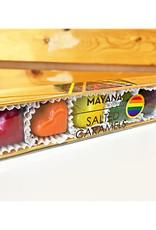 Mayana Chocolate 6-Piece Pride Rainbow Salted Caramel Hearts