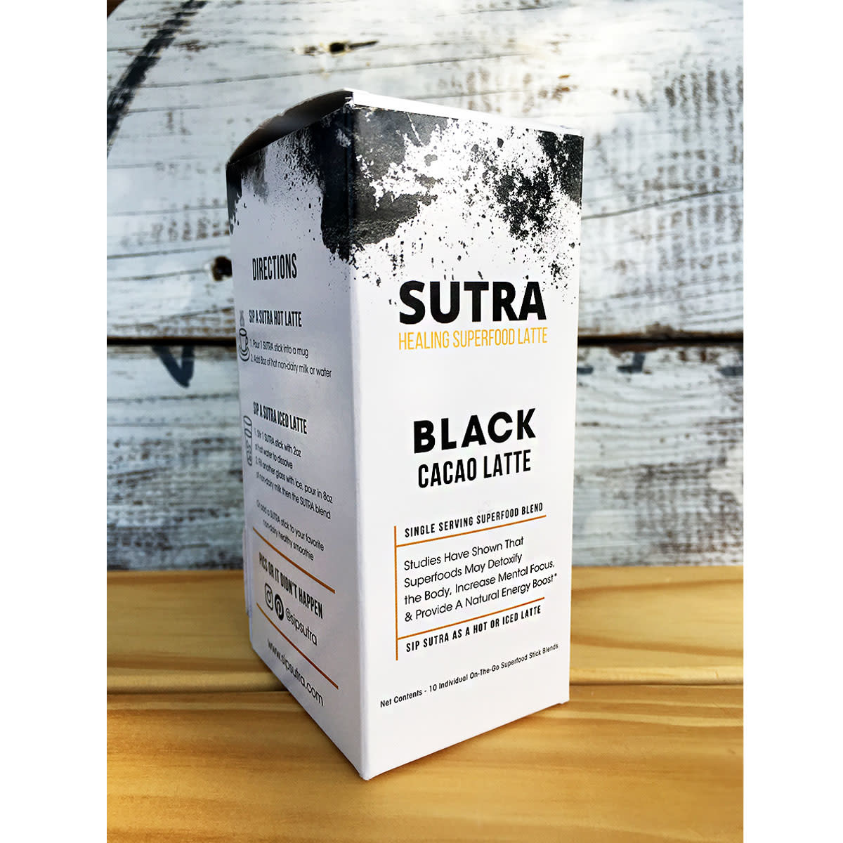 SUTRA Superfoods Cacao Superfood Latte Blend - Box of 10