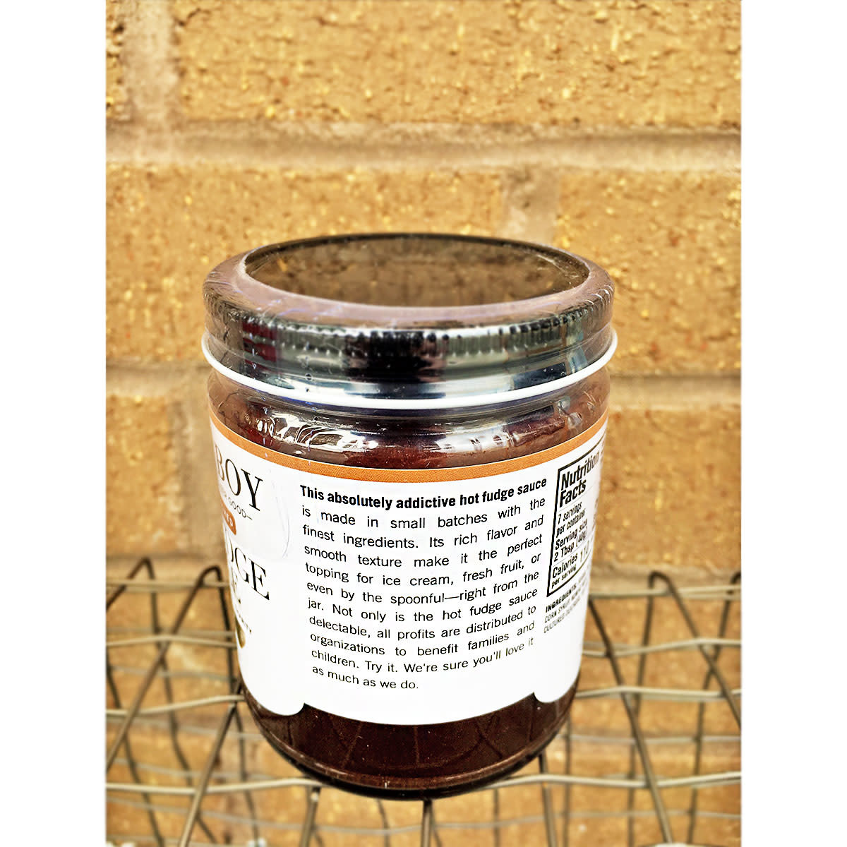 Best Boy & Co. Espresso Enriched Hot Fudge Sauce