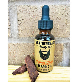 WeatherBeard Supply Co. Amber Trail Beard Oil