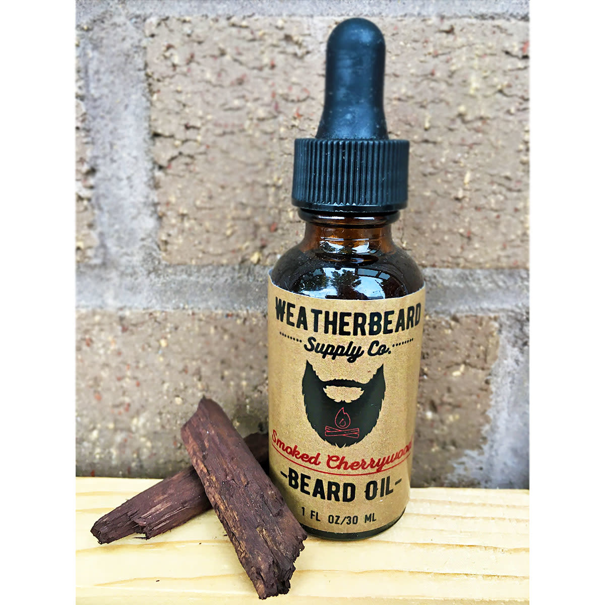 WeatherBeard Supply Co. Smoked Cherrywood Beard Oil