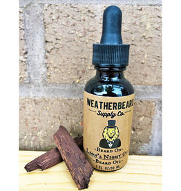 WeatherBeard Supply Co. Lions Night Out Beard Oil